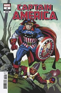 [Captain America #4 (Kirby Remastered Variant) (Product Image)]