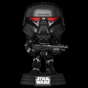 [Star Wars: The Mandalorian: Pop! Vinyl Figure: Dark Trooper (Product Image)]