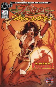 [Zorro Masters: Don Mcgregor's Lady Rawhide (25th Anniversary Cover A) (Product Image)]