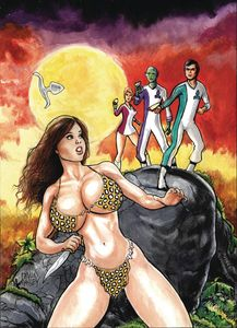 [Cavewoman: Starship Blish #1 (Cover A Massey) (Product Image)]