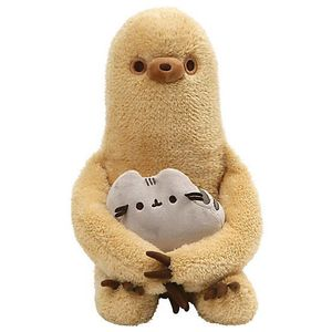 [Pusheen: Plush: Pusheen With Sloth (Product Image)]