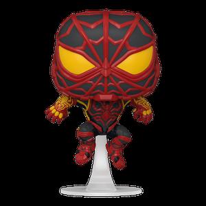 [Marvel's Spider-Man: Miles Morales: Pop! Vinyl Figure: Miles Morales S.T.R.I.K.E. Suit (Product Image)]