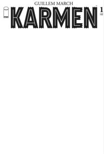 [Karmen #1 (Cover C Blank Cover) (Product Image)]