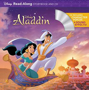 [Aladdin: Read Along Story Book & CD (Product Image)]
