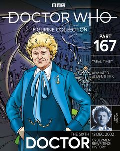 [Doctor Who Figure Collection #167: Sixth Doctor Blue Costume (Product Image)]
