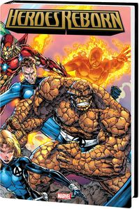 [Heroes Reborn: Omnibus (Booth Cover New Printing Hardcover) (Product Image)]