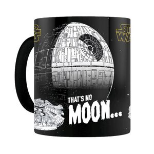 [Star Wars: Heat Change Mug: That's No Moon (Product Image)]