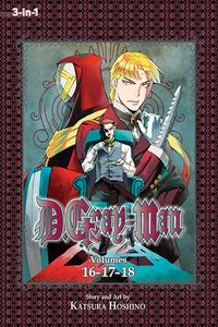 [D. Gray-Man: 3-In-1 Edition: Volume 6 (Product Image)]