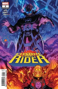 [Cosmic Ghost Rider #2 (Of 5) (2nd Printing Burnett Variant) (Product Image)]