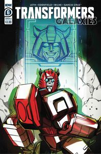 [Transformers: Galaxies #6 (Cover B Mcguire-Smith) (Product Image)]