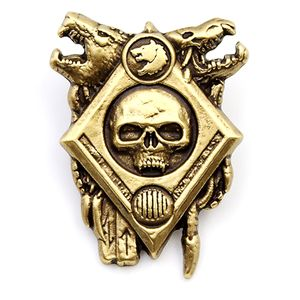 [Warhammer 40k: Artifact Pin Badge: Space Wolf (Product Image)]