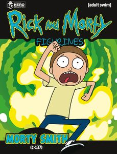 [Rick & Morty Figurine Collection #1: Morty (Product Image)]