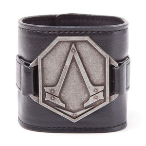 [Assassin's Creed: Syndicate: Wristband: Pu With Metal Logo (Product Image)]