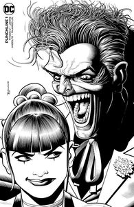 [Punchline #1 (Duk Bolland Black & White Variant Signed Edition) (Product Image)]