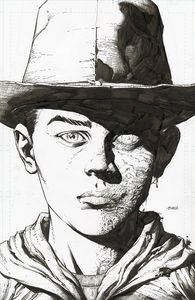[Walking Dead: Deluxe #4 (Cover B Finch & Mccaig Raw Variant) (Product Image)]