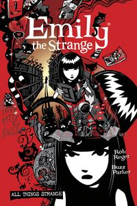 [The Complete Emily The Strange: All Things Strange (2nd Edition Hardcover) (Product Image)]