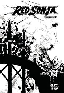 [Red Sonja #11 (Conner Black & White Variant) (Product Image)]
