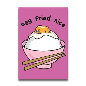 [Gudetama: Magnet: Egg Fried Nice (Product Image)]
