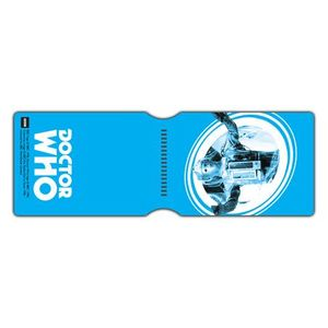 [Doctor Who: Card Holder: Cyberman Pop Art (Blue) (Product Image)]