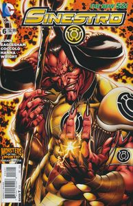 [Sinestro #6 (Monsters Variant Edition) (Godhead) (Product Image)]