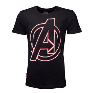 [Avengers: T-Shirt: Character Names (Product Image)]