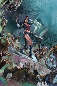 [Van Helsing: Sword Of Heaven #6 (Cover B Vitorino) (Product Image)]