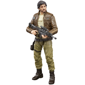 [Star Wars: Rogue One: Black Series Action Figure: Cassian Andor (Product Image)]