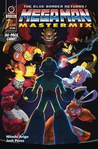 [Mega Man Mastermix #1 (Cover B Cruz) (Product Image)]