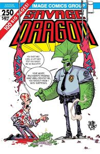 [Savage Dragon #250 (Cover E Young) (Product Image)]