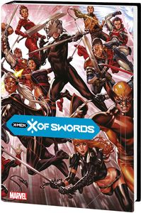 [X Of Swords (Brooks DM Variant Hardcover) (Product Image)]