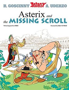 [Asterix & The Missing Scroll (Product Image)]
