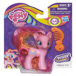 [My Little Pony: Rainbow Power Action Figures: Pinkie Pie (Product Image)]