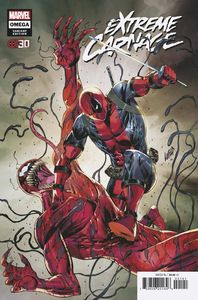 [Extreme Carnage: Omega #1 (Liefeld Deadpool 30th Variant) (Product Image)]