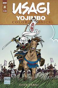 [Usagi Yojimbo: Colour Classics #4 (Cover A Sakai) (Product Image)]