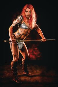 [Red Sonja: Price Of Blood #2 (Cosplay Virgin Variant) (Product Image)]