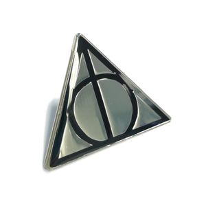 [Harry Potter: Pin Badge: Deathly Hallows (Product Image)]