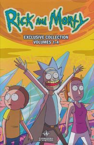 [Rick & Morty: Volumes 1- 4 (Exclusive Slipcase Edition) (Product Image)]
