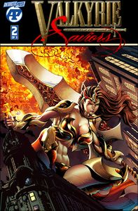 [Valkyrie Saviors #2 (Volcanic Valkyrie Jesse Wichmann) (Product Image)]