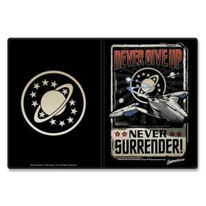 [Galaxy Quest: Passport Holder: Never Give Up, Never Surrender! (Product Image)]