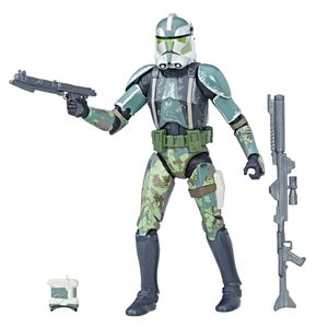 [Star Wars: Revenge Of The Sith: Black Series Action Figure: Clone Commander Gree (Product Image)]