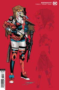 [Batman #97 (Jorge Jimenez Harley Variant Joker War) (Product Image)]