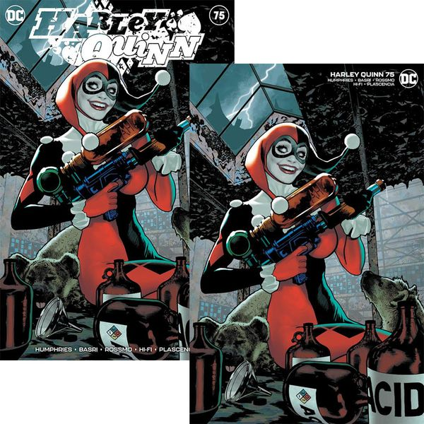 [The cover for Harley Quinn #75 (Adam Hughes Exclusive Variant Set)]