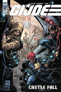 [G.I. Joe Castle Fall (Cover B Williams II) (Product Image)]