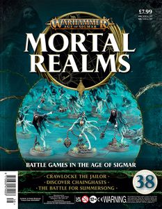 [Warhammer: Age Of Sigmar: Mortal Realms #38 (Product Image)]