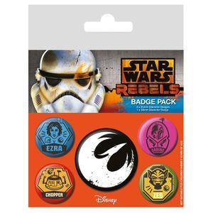 [Star Wars: Badge Pack: Rebels (Product Image)]