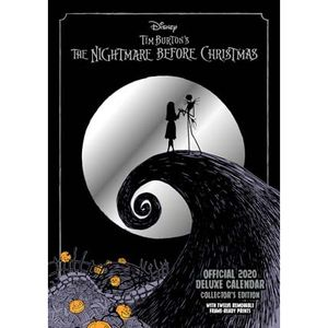 [Nightmare Before Christmas: Deluxe Calendar: 2020 (Product Image)]