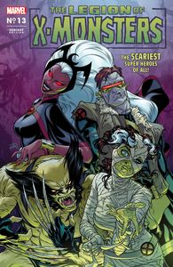 [X-Men #13 (Dauterman Legion X-Monsters Horror Variant XOS) (Product Image)]