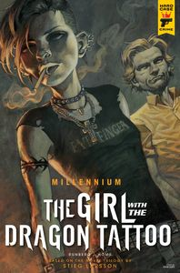 [Hard Case Crime: Millennium: The Girl With The Dragon Tattoo #2 (Cover B Homs) (Product Image)]