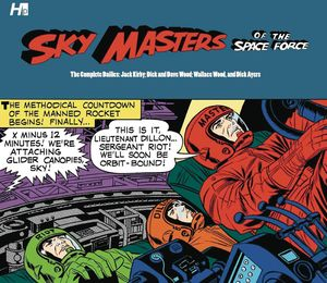 [Sky Masters Of The Space Force: The Complete Dailies 1958-1961(Hardcover) (Product Image)]