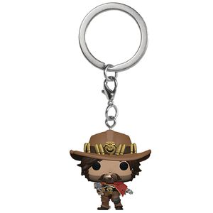 [Overwatch: Pocket Pop! Vinyl Keychain: McCree (Product Image)]